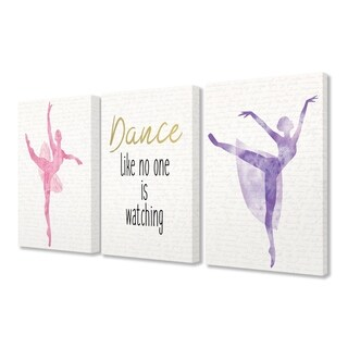 Stupell Industries Dance Like No One Is Watching 3 Pc. Wall Art Set (2 options available)