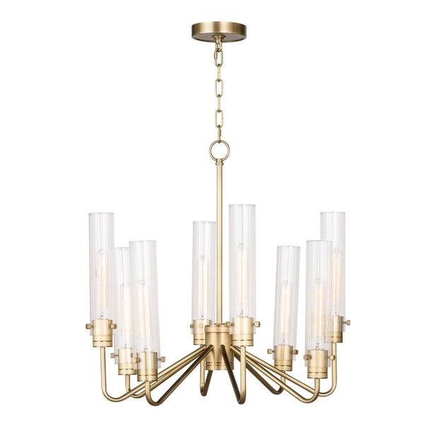 Neo Chandelier Small (Natural Brass)