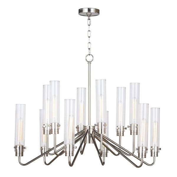 Neo Chandelier Large (Polished Nickel)