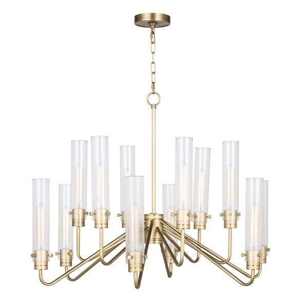 Neo Chandelier Large (Natural Brass)