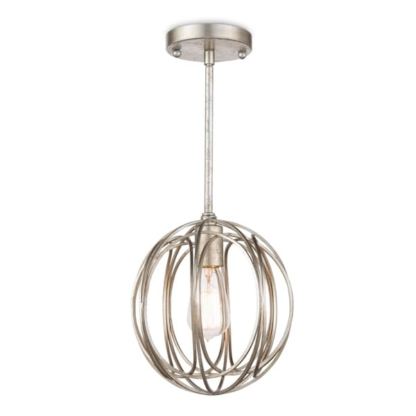 Regina Andrew Design Ofelia Silver Leaf Small Chandelier