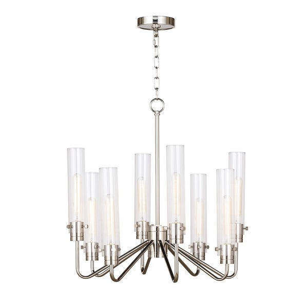 Neo Chandelier Small (Polished Nickel)