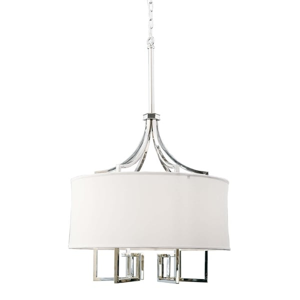 Le Chic Chandelier (Polished Nickel)