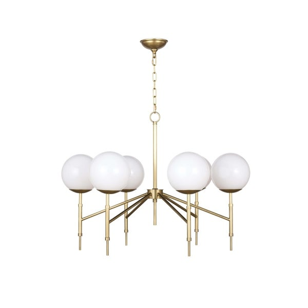 Bodie Chandelier (Natural Brass)