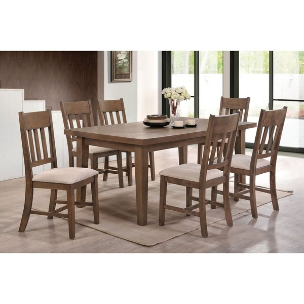 Exceptionnel Uzoh 7 PCs Dining Table Set