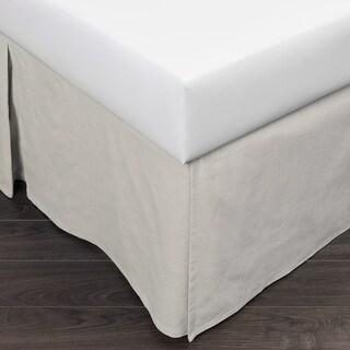 Shop Merit Linens Premium 14 Inch Drop Pleated Bed Skirt Overstock 10565646