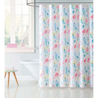 "Laura Hart Kids Mermaids 72"" x 72"" Shower Curtain"