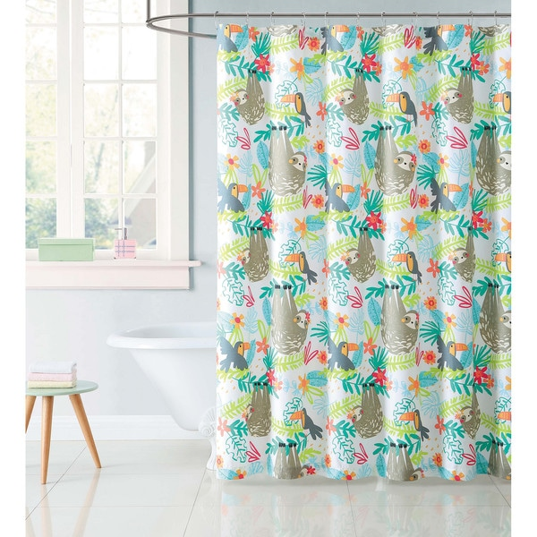 """Laura Hart Kids Hanging Out 72"""" x 72"""" Shower Curtain"""