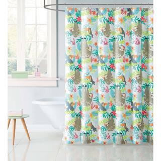 laura hart kids hanging out 72 x 72 shower curtain - Kids Shower Curtain