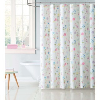 "Laura Hart Kids Garden Fairies 72"" x 72"" Shower Curtain"