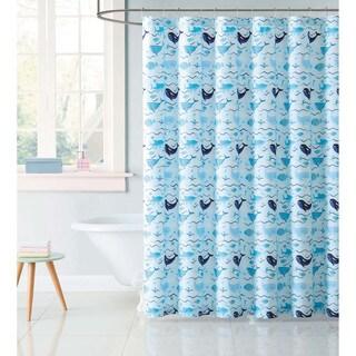 "Laura Hart Kids Deep Blue Sea 72"" x 72"" Shower Curtain"