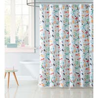 "Laura Hart Kids Animal Alphabet 72"" x 72"" Shower Curtain"