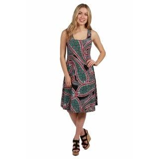 24/7 Comfort Apparel Hansa Dress