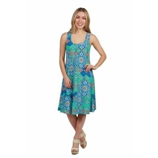 24/7 Comfort Apparel Lyric Dress