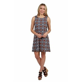 24/7 Comfort Apparel Savannah Shift Dress