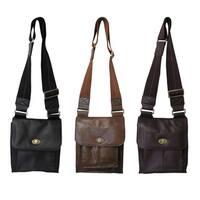 Amerileather Leather Antony Travel Messenger Bag