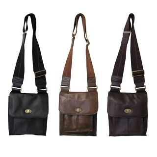 Amerileather Leather Antony Travel Messenger Bag (2 options available)