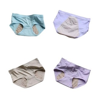 Solid Color Leakproof Period Panties(2 or 4 Pack)