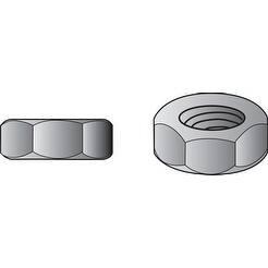Hillman Hex Nuts 2 no. Zinc Steel 3/4 in. - 10 210 pk