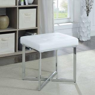 Silver Orchid Bara Vanity Bench