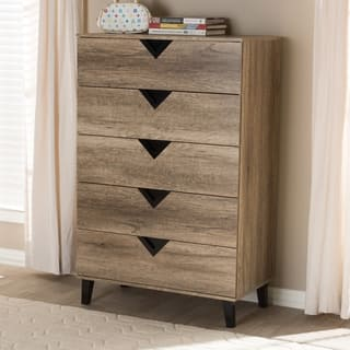 Palm Canyon Diana Contemporary 5 Drawer Chest
