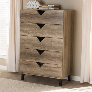 Carson Carrington Dragor Contemporary 5-drawer Chest
