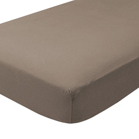 Fitted Bottom Sheet 100% Cotton Velvet Flannel