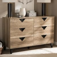 Palm Canyon Diana Contemporary 6-drawer Dresser