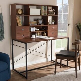 Rustic Industrial Desk by Baxton Studio