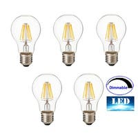 Artiva 12W(1500 Lumens, 100W replacement)Dimmable LED bulbs (Set of 5)