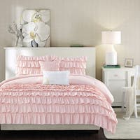 Intelligent Design Demi Blush 5-piece Ruffle Comforter Set