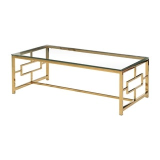 Best Master Furniture Gold Coffee Table