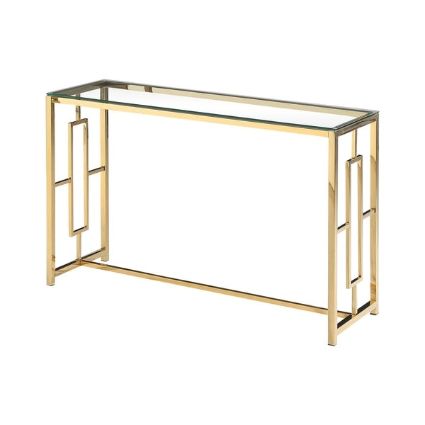 Best Master Furniture Gold Sofa Table