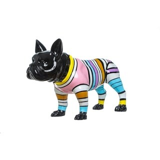 "Interior Illusions Plus Stripe Bull Dog - 24"" long"