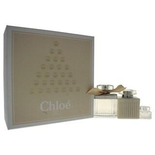 Chloe Fleur de Parfum Women's 3-piece Gift Set