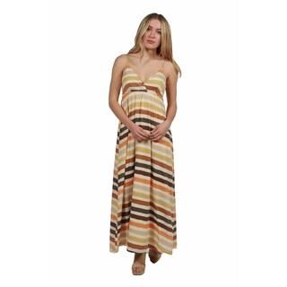 24/7 Comfort Apparel Olivia Maxi Dress
