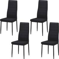 Best Quality Furniture Upholstered Dining Side Chair (Set of 4)