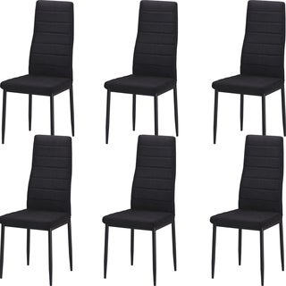 Best Quality Furniture Upholstered Dining Side Chair (Set of 6)