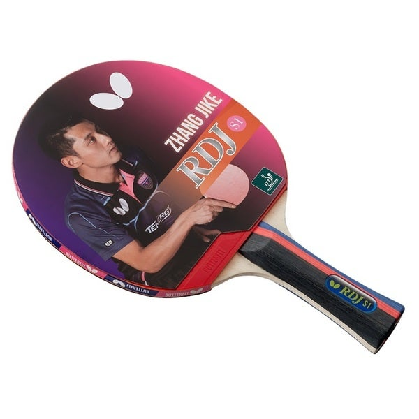 Shop Butterfly RDJ S1 Table Tennis Racket – ITTF Approved Ping Pong ...