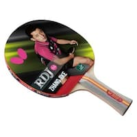 Butterfly RDJ S4 Table Tennis Racket  ITTF Approved Paddle  Great Spin, Speed, and Contr