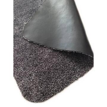 Rismat Magic Mat, Non Slip Rubber Backing, Traps Mud & Dirt, Charcoal