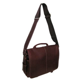 Amerileather 'Woody' Leather 15-inch Laptop Messenger Bag|https://ak1.ostkcdn.com/images/products/2026846/P10328032.jpg?impolicy=medium
