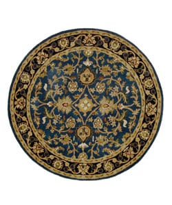Hand-tufted Mahal Wool Rug (6' Round)