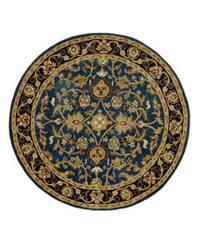 Hand-tufted Mahal Wool Rug (6' Round)