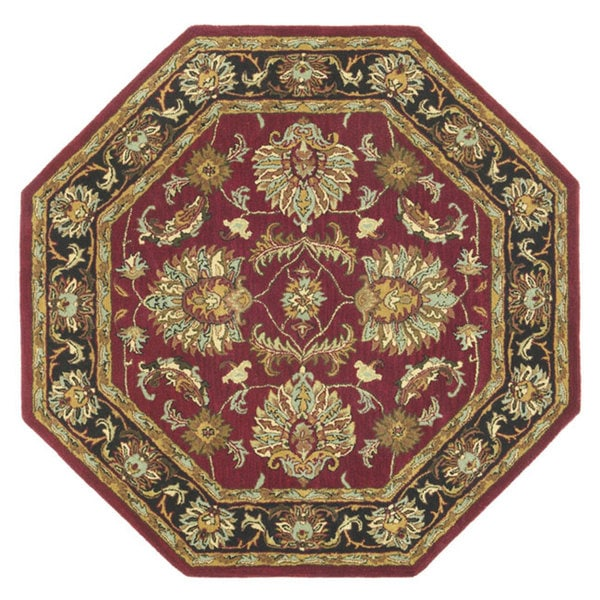 Shop Hand-tufted Agra Wool Rug (8' Octagon)