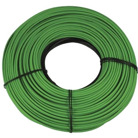 WarmlyYours Snow Melt Cable 240V, 128 ft., 6.3A