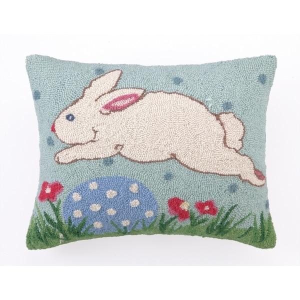 "Sally Eckman Roberts Happy Easter Hook Hook Pillow 16X20"""