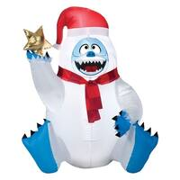 Gemmy Industries  Bumble  Christmas Inflatable  Multicolored  Fabric  31.50 in. x 27.56 in. x 38.58 in.