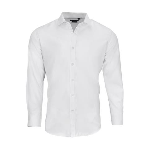 9cb3a2a40f14 Buy White Dress Shirts Online at Overstock | Our Best Shirts Deals