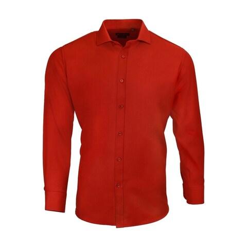 Dolce Roma %100 Cotton Men's Dress Dress Shirt